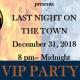 2018 LAST NIGHT ON THE TOWN - CBDA NYE VIP PARTY