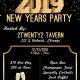 2Twenty2 Tavern's 2019 NYE Party