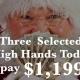 $1,199 Secret Santa High Hands @ TGT Poker Room