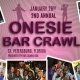 2nd Annual Onesie Bar Crawl: St.Pete