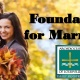 Foundation for Marriage (September 7, 2019)
