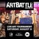 Art Battle Dallas - August 31, 2019