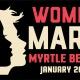Women's March Myrtle Beach SC 2019