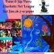 Artsy Gypsy paint & sip party