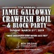 7th Annual Jamie Galloway Crawfish Boil & Block Party