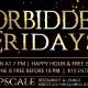 Forbidden Fridays'