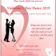 Valentine's Day Dance Class at Blue Suede Ballroom