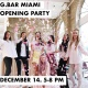 G.Bar Miami Opening Party