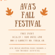 Ava's Fall Festival