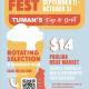 Oktoberfest at Tuman's Tap & Grill