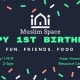 Happy 1st Birthday Muslim Space!