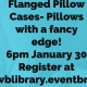 DIY Wednesdays: Fancy Flanged Pillow Cases