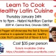 Healthy Latin Cooking Class with Chef David Pagan