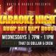 Karaoke Night: Hump Day Happy Hour