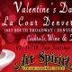 Elegant Valentine's Day Dinner with Art of the Spirits Whiskey