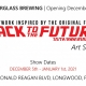 Back to the Future Art Show at Hourglass Brewing