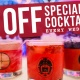 Wednesdays: Half Off Specialty Drinks!