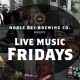 Live Music Friday's