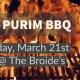Purim BBQ 2019