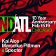 NDATL 10 Year w/ Kai Alce / Marcellus Pittman / Specter