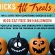 Halloween at Bubba Gump Shrimp Co. Kids Eat Free!
