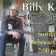 Heart & Home, Songs & Stories Billy Kemp Concert