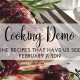 Cooking Demo: Valentine Recipes that Have Us Seeing Red