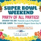 Luau Weekend and Super Bowl Party