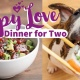 Dinner for two with your pup
