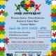 Autism Fashion Show and Vendors Market. Hosted by, Dare to Hire Different.