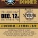 Beer Pairing Dinner with 63 Sovereign