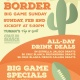 South of the Border Big Game Sunday at Tuman's Tap & Grill