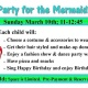 Birthday Party for the Mermaid Princess