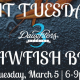 Fat Tuesday Crawfish Boil at 3 Daughters Brewing