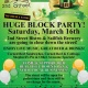 St Patrick's Day Block Party