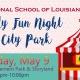 ISL Family Fun Night at City Park