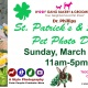 St. Patrick's Day and Spring Pet Portraits