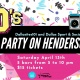 90's Block Party on Henderson Ave