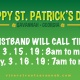 2019 St. Patrick's Day Wristbands