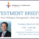 2019 Investment Briefing