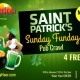 St. Patrick's Sunday Funday Tour