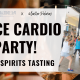 Dance Cardio Party + Organic Wine/Spirits Tasting
