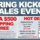 Spring Kickoff Sales Event