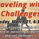 Learn Tips about Traveling with Challenges at the Safety Harbor Public Library