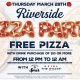 Riverside Pizza Party