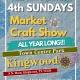4th Sunday Kingwood Market - May