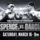 Watch Spence JR vs Garcia at GameTime