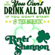 St. Patrick's Day: #YCDAD Part II Party at River Shannon