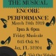 Duval the Musical Encore @ Night