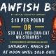 Crawfish Boil at Mean Eyed Cat